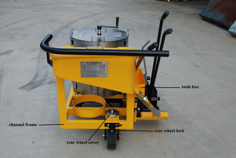 Widely Purpose Small Cold Paint Airless Road Line Marking Machine Price