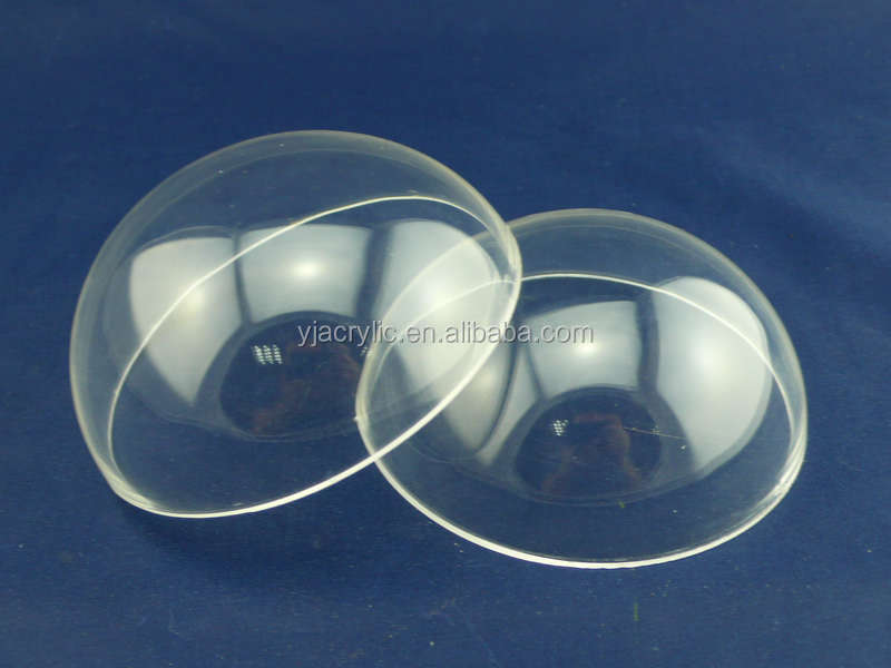 customized clear acrylic hollow plastic sphere