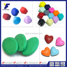 wholesale loose beads for baby teething jewelry chewable silicone beads