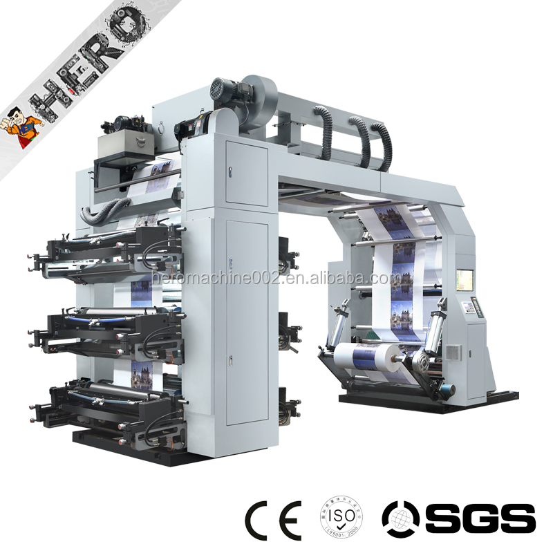 GYT6-2400 2017 Easy operation Flexo printing machine/flexo printer/flexographic printing press