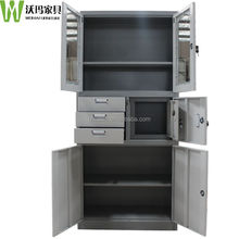 Glass door godrej cupboard,iron filing cabinet ,documents cabinet with 3 drawers