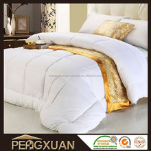 wholesale cheap cooling hotel white plain duck feather down quilt