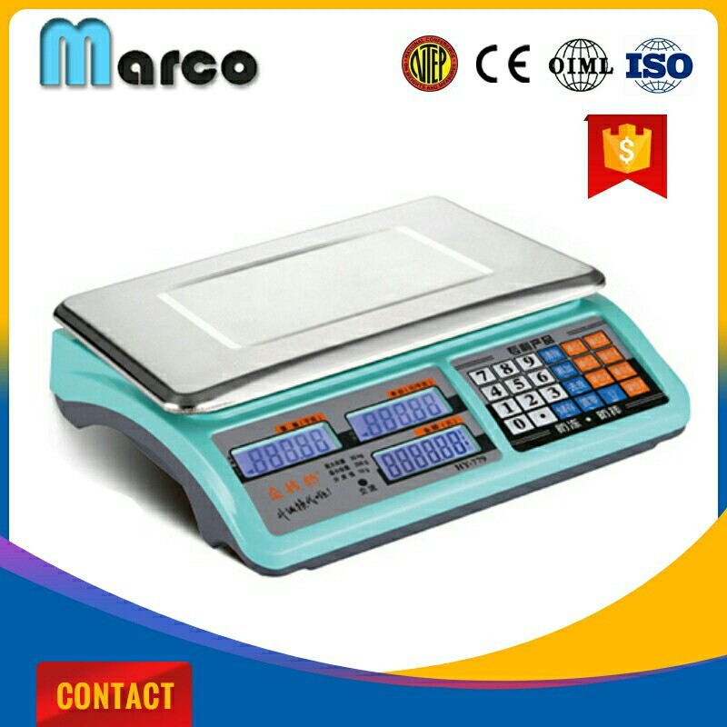 double side electical scale high quality digital weighing machine price