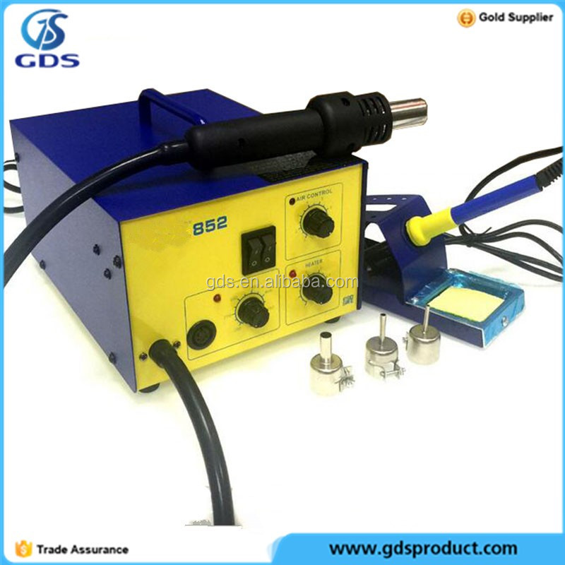 Mobile phones 852 soldering station hot air gun welding electric soldering Iron