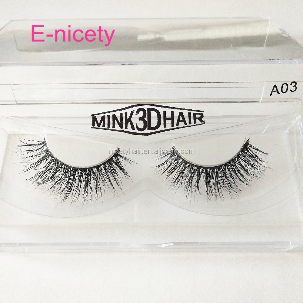 3D Mink lash,Private Label customer packaging , Handmade mink lash <strong>A03</strong>