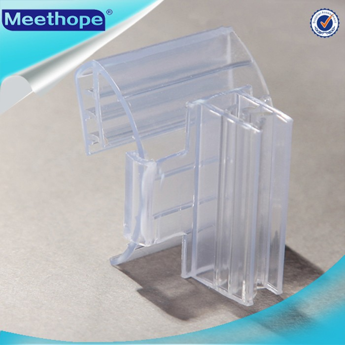 Plastic Ticket Holder for Shelf Display