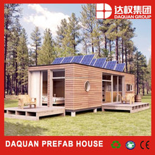 DAQUAN precision welding prefab folding 40ft shipping container house