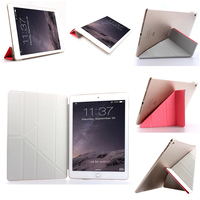 multifunction PU flip leather case for ipad air 2 tablet 128gb
