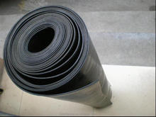 black 1300mm width nr rubber sheet/roll/mat/plate with reach compliant