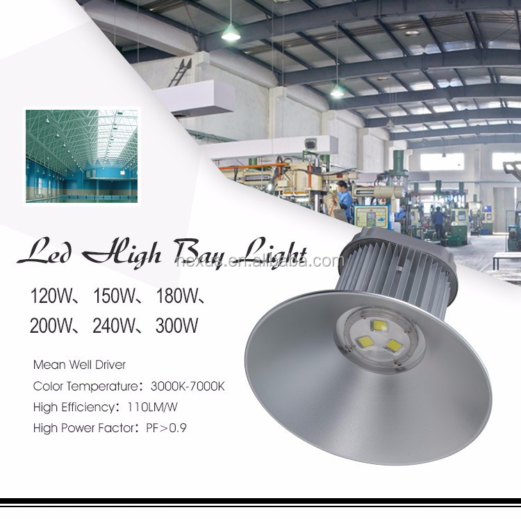 Top Quality High Lumen 5 Years Warranty Industrial Warehouse 200w LED High Bay Light