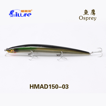 China Wholesale Fishing Lure 150mm/18g Hard Minnow Fishing Lure