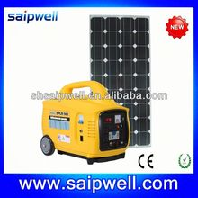 NEW PLASTIC EUROPE MARKET 100W SOLAR HOME SYSTEM
