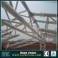 aluminium roof truss,curved roof
