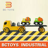 China exports toys 4CH excavators cheap rc tow truck for sale with music.