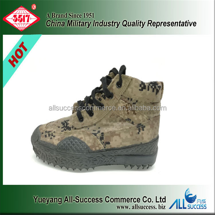 Perfect Safety Hunting Military Shoes Camouflage Tan Desert Army Boots