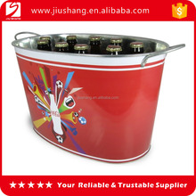 Rectangle stainless steel ice bucket with large capacity