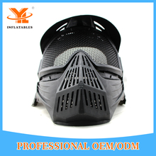 High Quality Goggle Face Mask Paintball For Archery Game, Inflatable Paintball Mask Helmet