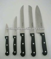 color handle stainless steel kitchen knife