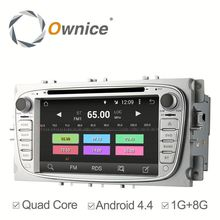 Android 4.4 Ownice car Stereo for ford focus 2008-2011 GPS Navigation Stereo WIFI 3G Bluetooth DVD