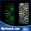 Fluorescent Noctilucent phone case for iphone 5s for iphone 6 animal case life of a king