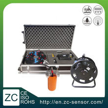 Dual axis high accuracy waterproof IP68 borehole inclinometer with strong steel wire cable (ZCT-CX03D-E)