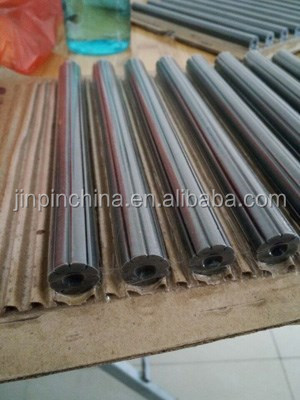 Ferrite impeder cores for welding high frequency pipe