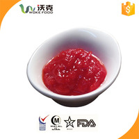 IFS certificate 70g brix 28-30 fresh paste tomato canned with OEM