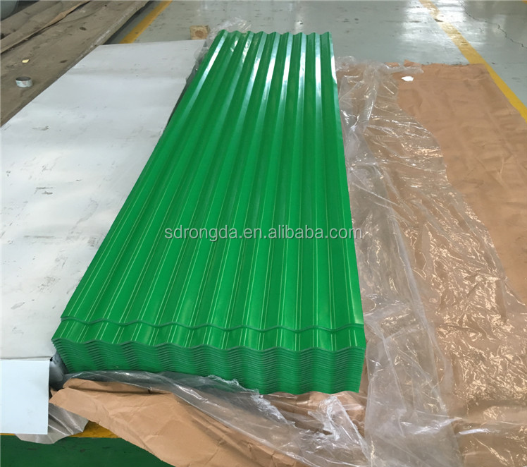 Coated Corrugated Aluminium Roof Sheet For House