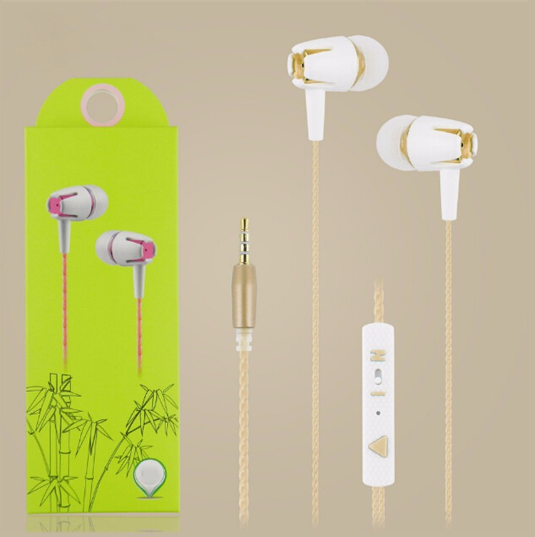 2018 Shenzhen Promotion Gifts 3.5mm Wired China Colorful In-ear Mobile Earphone
