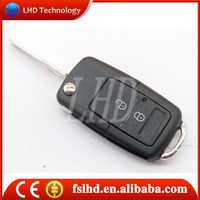 Hot sale remote control key for VW Jetta 2 buttons Modified remote key case
