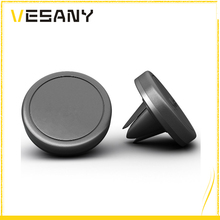 Hot selling newest design black mini abs magnetic car vent phone holder