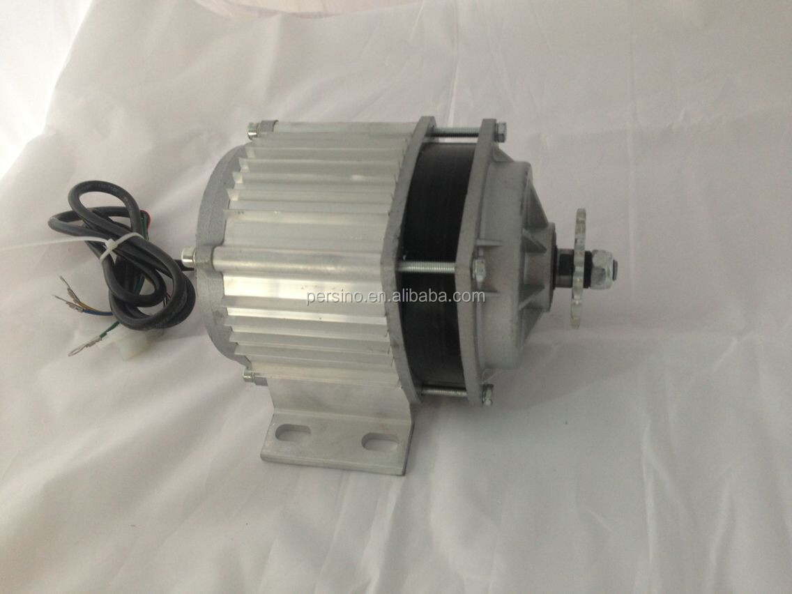 high performance 48v 500w brushless dc motor for electric vehicle