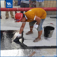 Non-Curing Asphalt spraying waterproof coating for roofs