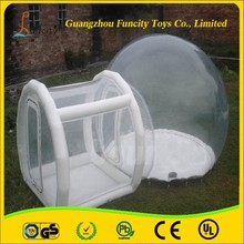 The most popular inflatable bubble tent, durable inflatable bubble lodge tent for camping and exhibition