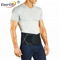 Copper infused adjustable pain Relief Compression lower back support belt for unisex