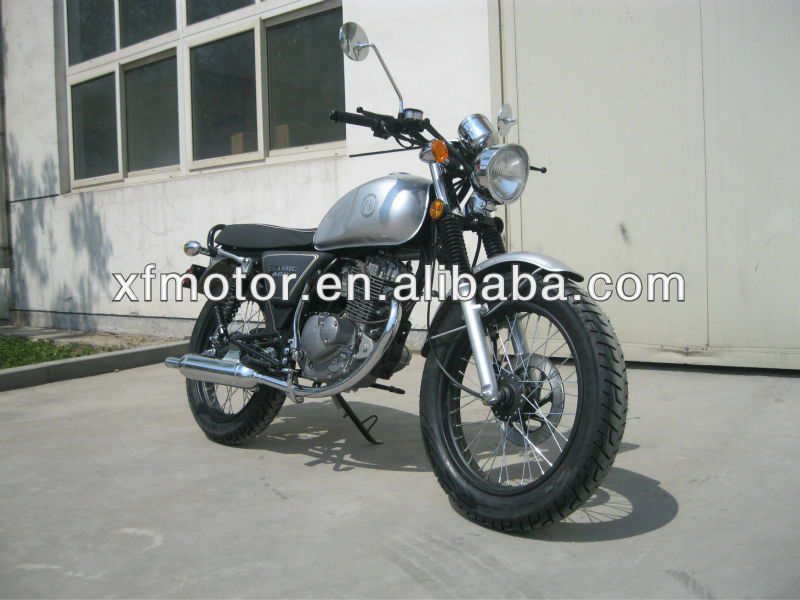 new model 200cc retro motorcycle