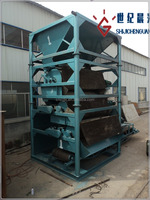 combined equipment for extract magnetic separator