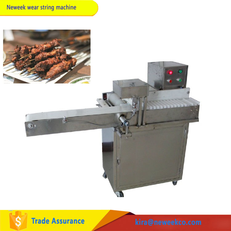 NEWEEK stainless steel chicken beef fishball shrimp ball potato string machine