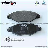 Auto Spare Parts Disc Brake Pads For Citroen Xsara