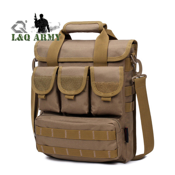 Tactical Shoulder Bag Outdoor Casual Handbag Hiking Sport Bag