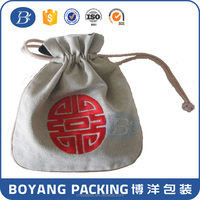 OEM factory direct wholesale Flax pouch