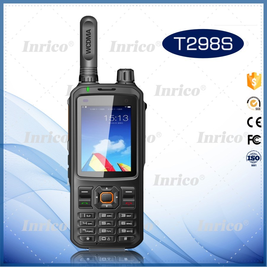 Inrico 3G WCDMA Network Wifi Network POC Radio with Colorful LCD Display