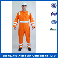 High Quality Wholesale safety coverall workwear uniforms/High Quality Cotton Coverall Uniforms For Work