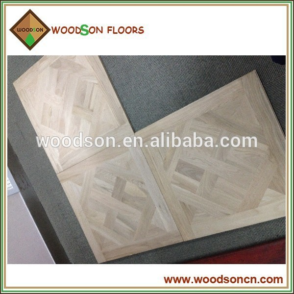 Economic and Reliable white oak versailles parquet flooring Manufacturer