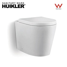 European Toilets Of Back To Wall Wc Pan For Hidden Cistern Cabinet Bathroom Washdown Rimless Toilet
