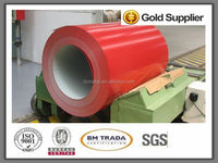 color coated ppgi steel coil for light weight building roof material