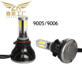Factory direct 9005/9006 LED headlight car led headlamp G5 COB LED head light Bulb 80W 4000LM 9V-36V for car LED headlamp