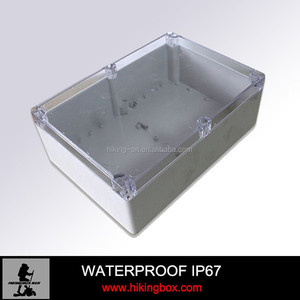popular selling transparent waterproof enclosure for electron