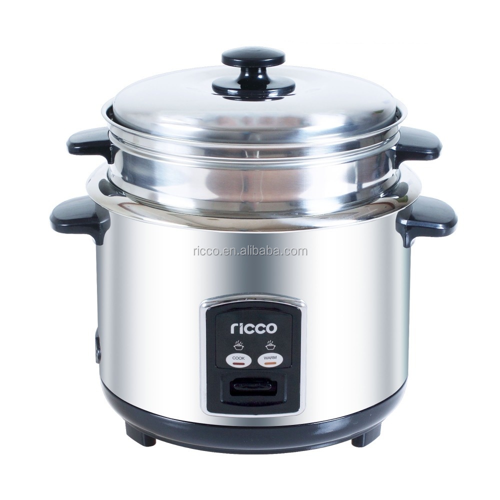 Low Price Home Appliance Straight Type Stainless Steel Mini Rice Cooker