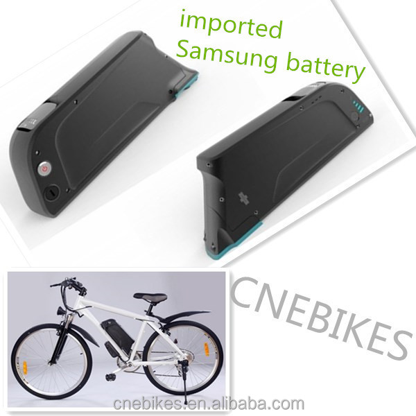 36v 13AH imported bottle Lithium Samsung ebike battery case with charger for E- power bike